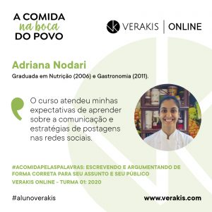 A Comida Pelas Palavras - Adriana Nodari