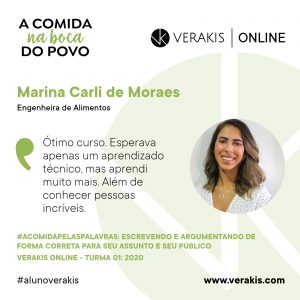 A Comida Pelas Palavras - Marina Carli
